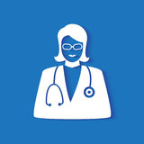 Medical doctor icon Stock Photo