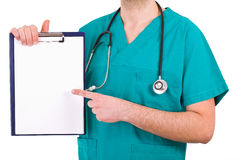Medical doctor. Image of a medical doctor Stock Photo