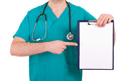 Medical doctor. Royalty Free Stock Photos