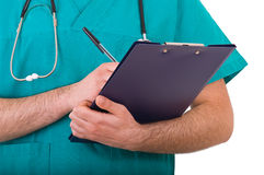 Medical doctor. Image of a medical doctor Stock Photos
