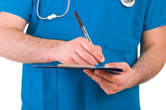 Medical doctor. Image of a medical doctor Royalty Free Stock Photo