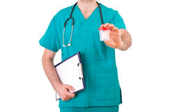 Medical doctor. Stock Image