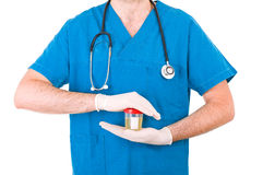 Medical doctor. Royalty Free Stock Image