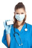 Medical doctor in mask Royalty Free Stock Images