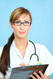 Medical doctor nurse Stock Photos