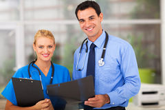 Medical doctor nurse Stock Photo