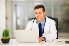 Medical doctor office Royalty Free Stock Photos