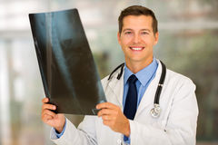 Medical doctor patient's x ray Stock Images