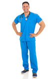 Medical doctor posing Stock Images
