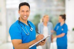 Medical doctor prescription Stock Photography