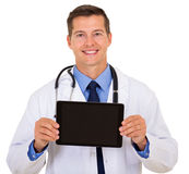 Medical doctor presenting Stock Photo