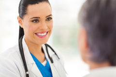Medical doctor senior Stock Photography