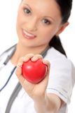 Medical doctor with stethoscope Royalty Free Stock Photo