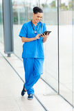 Medical doctor tablet pc Stock Photo