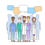 Medical Doctor Team Communication Concept Royalty Free Stock Photos