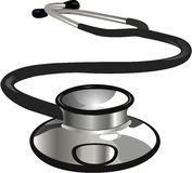 Medical Doctor Tool. Medical doctor stethoscope  illustration Stock Photo
