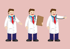 Medical Doctor Vector Cartoon Character Stock Image