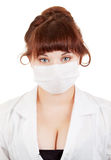 Medical doctor woman Royalty Free Stock Photo