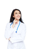 Medical doctor woman Royalty Free Stock Image