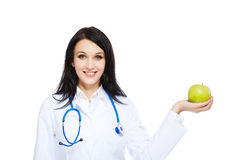 Medical doctor woman Stock Images