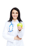 Medical doctor woman Stock Image