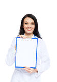 Medical doctor woman Royalty Free Stock Images