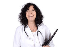 Medical doctor woman. stock image