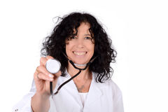 Medical doctor woman. stock photography