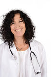 Medical doctor woman. royalty free stock photos