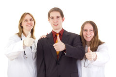 Medical doctors with patient Stock Photo