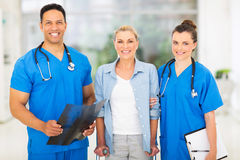 Medical doctors patient Royalty Free Stock Images