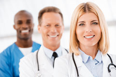 Medical doctors team. Royalty Free Stock Image