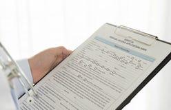 Medical Documentation Royalty Free Stock Photography
