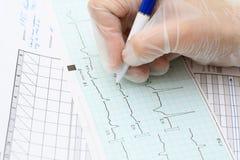 Medical documentation Stock Images