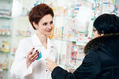 Medical drug purchase Stock Image
