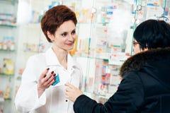 Medical drug purchase Stock Image