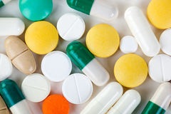 Medical drugs Stock Photography