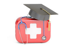 Medical education concept. 3D rendering Royalty Free Stock Image