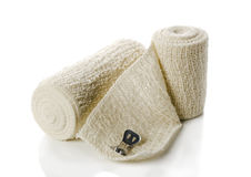 Medical elastic tensor bandage Stock Image