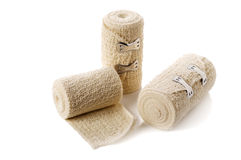 Medical elastic tensor bandage Royalty Free Stock Photo