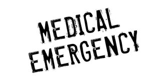 Medical Emergency rubber stamp Royalty Free Stock Image