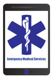 Medical emergency sign Stock Photo