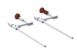 Medical endoscope Royalty Free Stock Photo