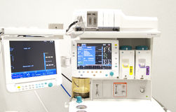 Medical equipment. In hospital ındoor royalty free stock photography