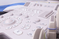 A medical equipment background, close-up ultrasound machine stock images