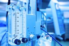 Medical equipment. Gas mixer. Stylized photo Stock Photos