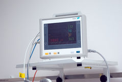 Medical equipment in hospital Stock Image