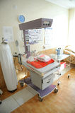 Medical equipment at maternity clinic Stock Image