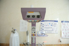 Medical equipment at maternity clinic Stock Photos