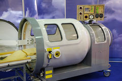 The medical equipment, pressure chamber Royalty Free Stock Photography